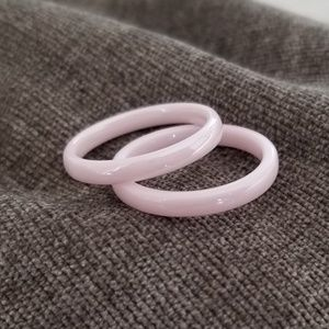 Pink Ceramic Ring